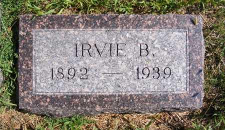 STAPP, IRVIE B. - Frontier County, Nebraska | IRVIE B. STAPP - Nebraska Gravestone Photos