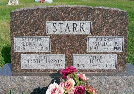 STARK, JOHN - Frontier County, Nebraska | JOHN STARK - Nebraska Gravestone Photos