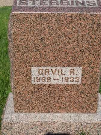 STEBBINS, ORVIL R. - Frontier County, Nebraska | ORVIL R. STEBBINS - Nebraska Gravestone Photos