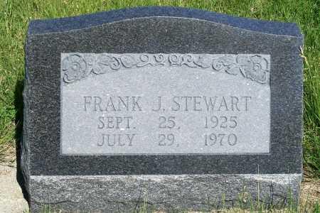 STEWART, FRANK J. - Frontier County, Nebraska   FRANK J. STEWART - Nebraska Gravestone Photos