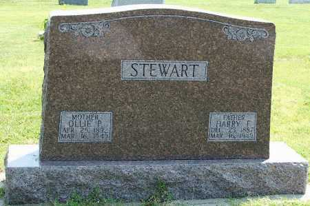STEWART, HARRY F. - Frontier County, Nebraska | HARRY F. STEWART - Nebraska Gravestone Photos