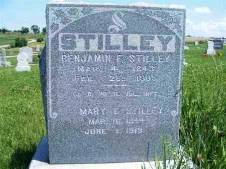 STILLEY, BENJAMIN F. - Frontier County, Nebraska | BENJAMIN F. STILLEY - Nebraska Gravestone Photos