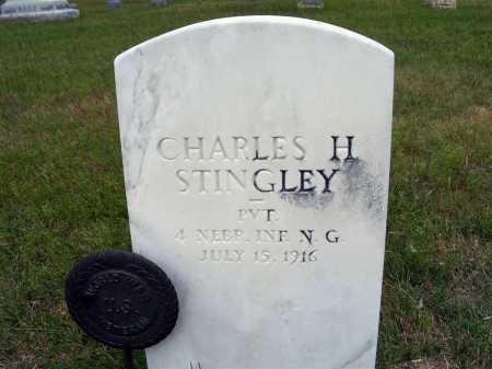 STINGLEY, CHARLES H. - Frontier County, Nebraska   CHARLES H. STINGLEY - Nebraska Gravestone Photos