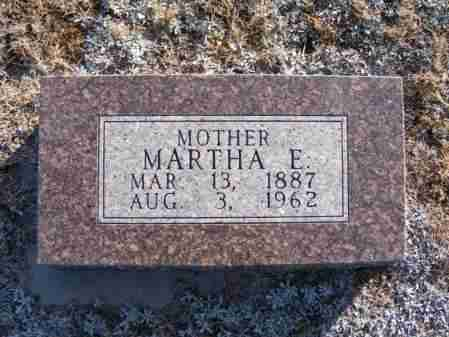 STINMAN, MARTHA E. - Frontier County, Nebraska | MARTHA E. STINMAN - Nebraska Gravestone Photos