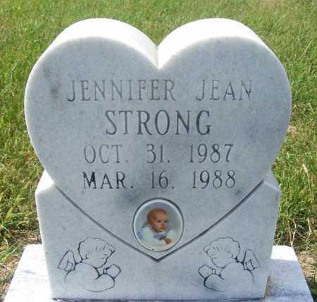 STRONG, JENNIFER JEAN - Frontier County, Nebraska | JENNIFER JEAN STRONG - Nebraska Gravestone Photos