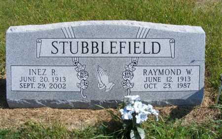 STUBBLEFIELD, INEZ R. - Frontier County, Nebraska | INEZ R. STUBBLEFIELD - Nebraska Gravestone Photos