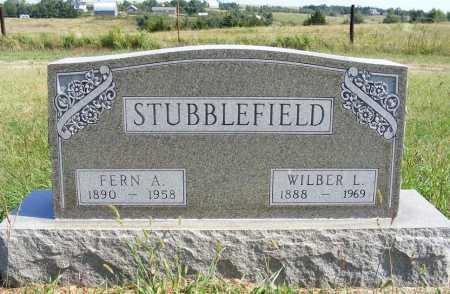 STUBBLEFIELD, FERN A. - Frontier County, Nebraska   FERN A. STUBBLEFIELD - Nebraska Gravestone Photos