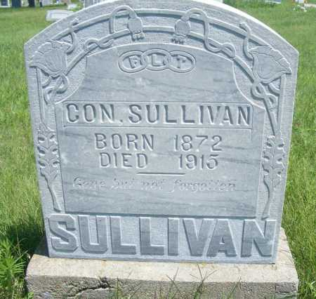 SULLIVAN, CON - Frontier County, Nebraska   CON SULLIVAN - Nebraska Gravestone Photos
