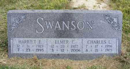 SWANSON, CHARLES L. - Frontier County, Nebraska | CHARLES L. SWANSON - Nebraska Gravestone Photos