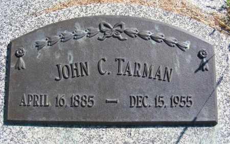 TARMAN, JOHN C. - Frontier County, Nebraska | JOHN C. TARMAN - Nebraska Gravestone Photos