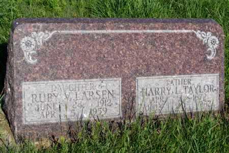 LARSEN, RUBY V. - Frontier County, Nebraska | RUBY V. LARSEN - Nebraska Gravestone Photos