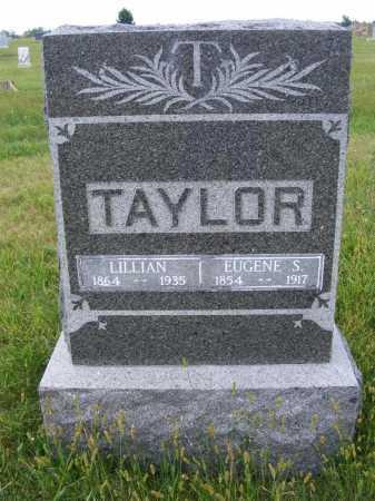 TAYLOR, EUGENE S. - Frontier County, Nebraska | EUGENE S. TAYLOR - Nebraska Gravestone Photos