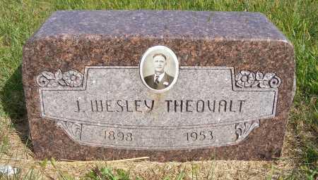 THEOVALT, J. WESLEY - Frontier County, Nebraska | J. WESLEY THEOVALT - Nebraska Gravestone Photos