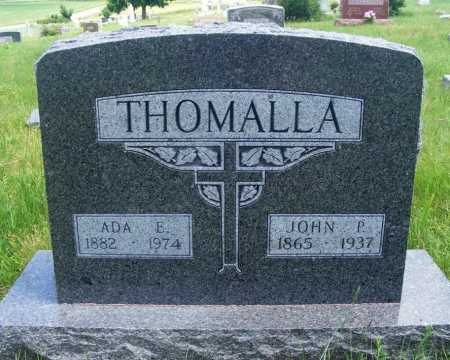 THOMALLA, ADA E. - Frontier County, Nebraska | ADA E. THOMALLA - Nebraska Gravestone Photos