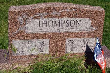 THOMPSON, ELGIE T. - Frontier County, Nebraska   ELGIE T. THOMPSON - Nebraska Gravestone Photos