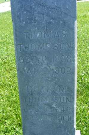 HARNSBERGER THOMPSON, RUTH M. - Frontier County, Nebraska | RUTH M. HARNSBERGER THOMPSON - Nebraska Gravestone Photos
