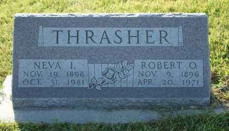 THRASHER, ROBERT O. - Frontier County, Nebraska | ROBERT O. THRASHER - Nebraska Gravestone Photos