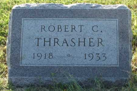 THRASHER, ROBERT C. - Frontier County, Nebraska | ROBERT C. THRASHER - Nebraska Gravestone Photos