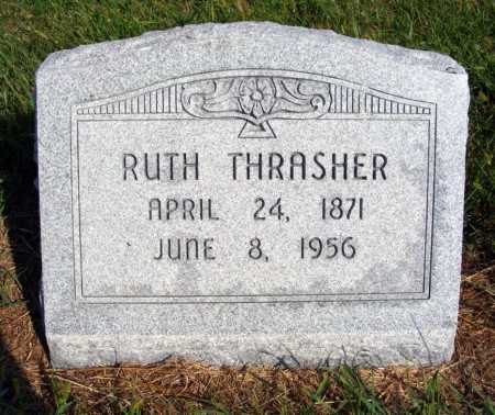 THRASHER, RUTH - Frontier County, Nebraska | RUTH THRASHER - Nebraska Gravestone Photos