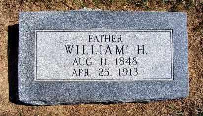 TIDYMAN, WILLIAM H. - Frontier County, Nebraska | WILLIAM H. TIDYMAN - Nebraska Gravestone Photos