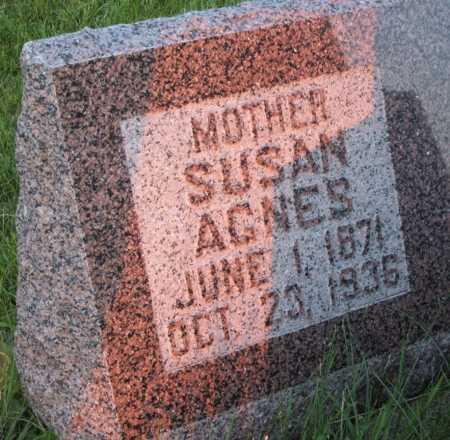 TILLOTSON, SUSAN AGNES - Frontier County, Nebraska   SUSAN AGNES TILLOTSON - Nebraska Gravestone Photos