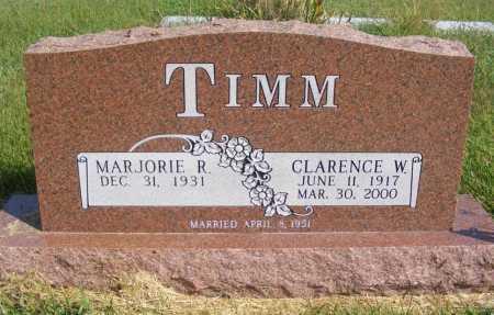 TIMM, CLARENCE W. - Frontier County, Nebraska | CLARENCE W. TIMM - Nebraska Gravestone Photos