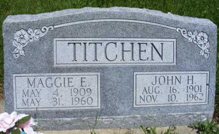TITCHEN, JOHN H. - Frontier County, Nebraska | JOHN H. TITCHEN - Nebraska Gravestone Photos