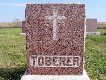 TOBERER, EMMA C. - Frontier County, Nebraska   EMMA C. TOBERER - Nebraska Gravestone Photos