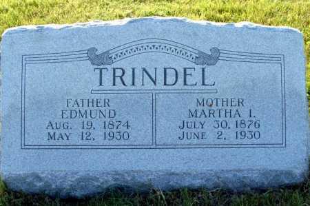 TRINDEL, EDMUND - Frontier County, Nebraska | EDMUND TRINDEL - Nebraska Gravestone Photos