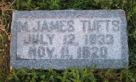 TUFTS, M. JAMES - Frontier County, Nebraska | M. JAMES TUFTS - Nebraska Gravestone Photos