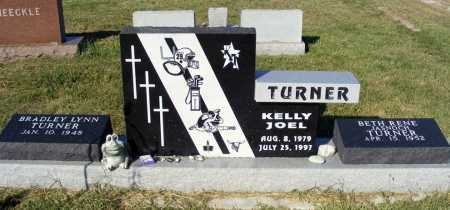 TURNER, KELLY JOEL - Frontier County, Nebraska | KELLY JOEL TURNER - Nebraska Gravestone Photos