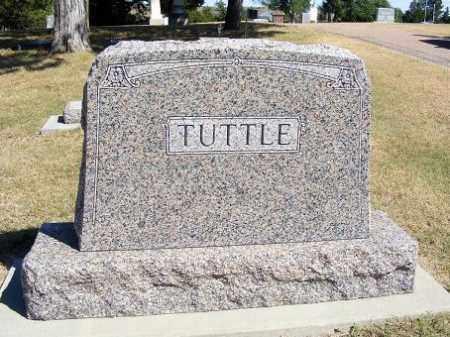TUTTLE, FAMILY - Frontier County, Nebraska   FAMILY TUTTLE - Nebraska Gravestone Photos