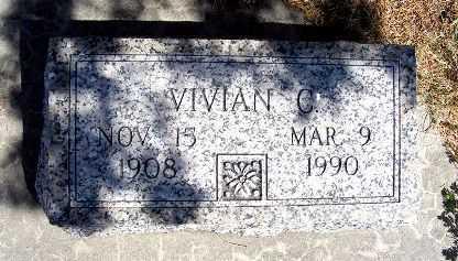 TUTTLE, VIVIAN C. - Frontier County, Nebraska | VIVIAN C. TUTTLE - Nebraska Gravestone Photos