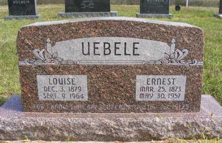 UEBELE, ERNEST - Frontier County, Nebraska | ERNEST UEBELE - Nebraska Gravestone Photos