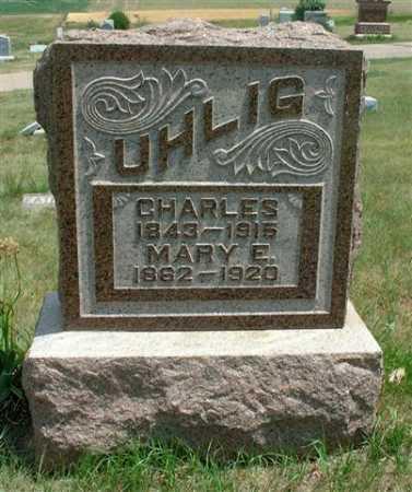 UHLIG, CHARLES - Frontier County, Nebraska   CHARLES UHLIG - Nebraska Gravestone Photos