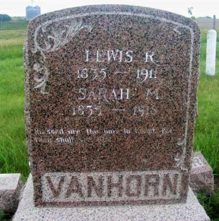VANHORN, LEWIS R. - Frontier County, Nebraska | LEWIS R. VANHORN - Nebraska Gravestone Photos