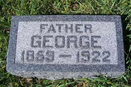 WAGNER, GEORGE - Frontier County, Nebraska | GEORGE WAGNER - Nebraska Gravestone Photos