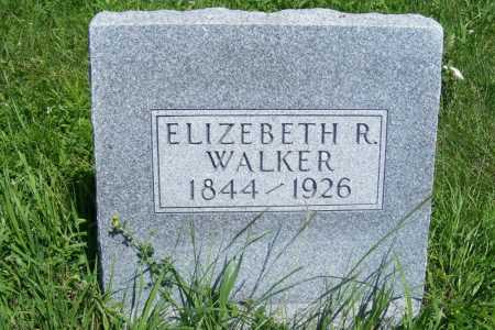 WALKER, ELIZEBETH R. - Frontier County, Nebraska | ELIZEBETH R. WALKER - Nebraska Gravestone Photos