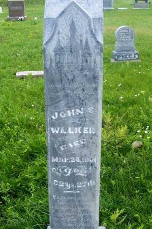 WALKER, JOHN S. - Frontier County, Nebraska   JOHN S. WALKER - Nebraska Gravestone Photos