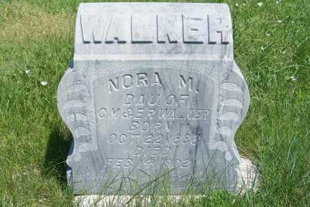 WALKER, NORA M. - Frontier County, Nebraska   NORA M. WALKER - Nebraska Gravestone Photos