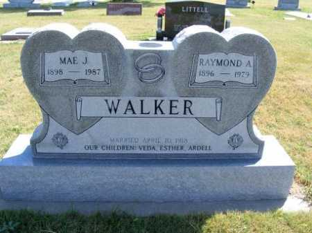 WALKER, RAYMOND A. - Frontier County, Nebraska | RAYMOND A. WALKER - Nebraska Gravestone Photos