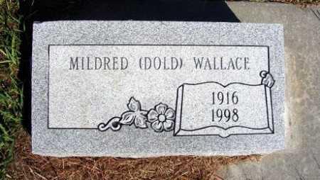 WALLACE, MILDRED - Frontier County, Nebraska | MILDRED WALLACE - Nebraska Gravestone Photos