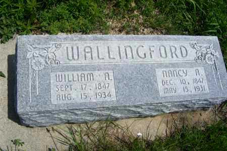 WALLINGFORD, WILLIAM A. - Frontier County, Nebraska | WILLIAM A. WALLINGFORD - Nebraska Gravestone Photos