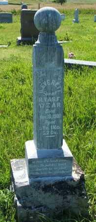 WEAR, B. EVERETT - Frontier County, Nebraska   B. EVERETT WEAR - Nebraska Gravestone Photos