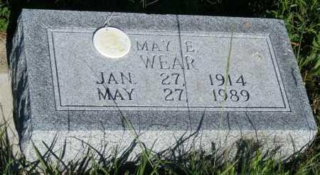 DONNER WEAR, MAY E. - Frontier County, Nebraska | MAY E. DONNER WEAR - Nebraska Gravestone Photos