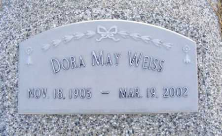 JOHNSON WEISS, DORA MAY - Frontier County, Nebraska | DORA MAY JOHNSON WEISS - Nebraska Gravestone Photos
