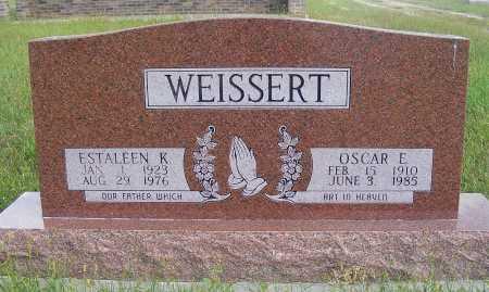 WEISSERT, ESTALEEN K. - Frontier County, Nebraska   ESTALEEN K. WEISSERT - Nebraska Gravestone Photos
