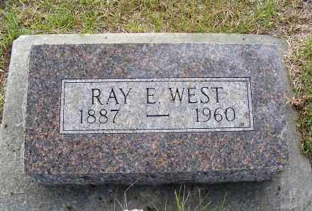 WEST, RAY E. - Frontier County, Nebraska | RAY E. WEST - Nebraska Gravestone Photos