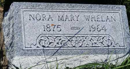 WHELAN, NORA MARY - Frontier County, Nebraska   NORA MARY WHELAN - Nebraska Gravestone Photos