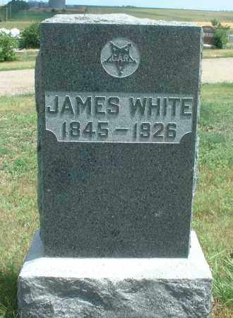 WHITE, JAMES - Frontier County, Nebraska   JAMES WHITE - Nebraska Gravestone Photos